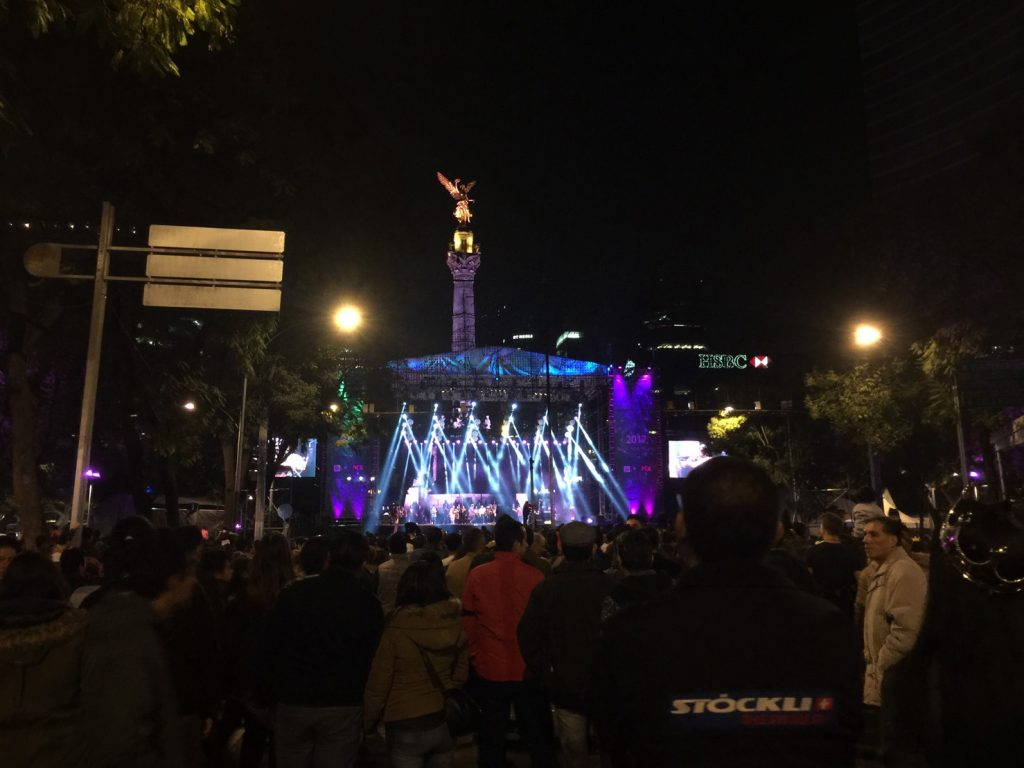 メキシコシティ カウントダウン 2017