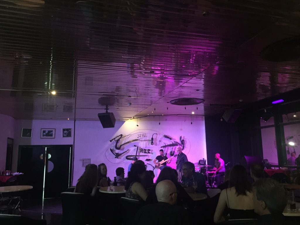 Jazz cafe in havana