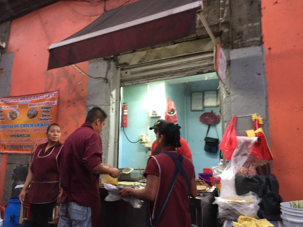 メキシコシティ タコス